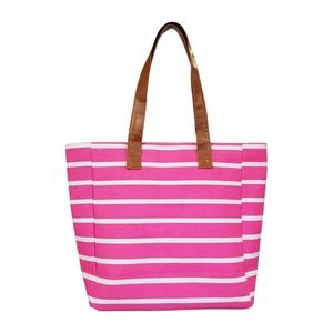 Handbags - Molly Striped Canvas Tote Bag Brand New